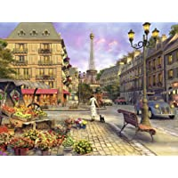 Ravensburger Vintage Paris 1500 Piece Jigsaw Puzzle for Adults – Softclick Technology Means Pieces Fit Together Perfectly