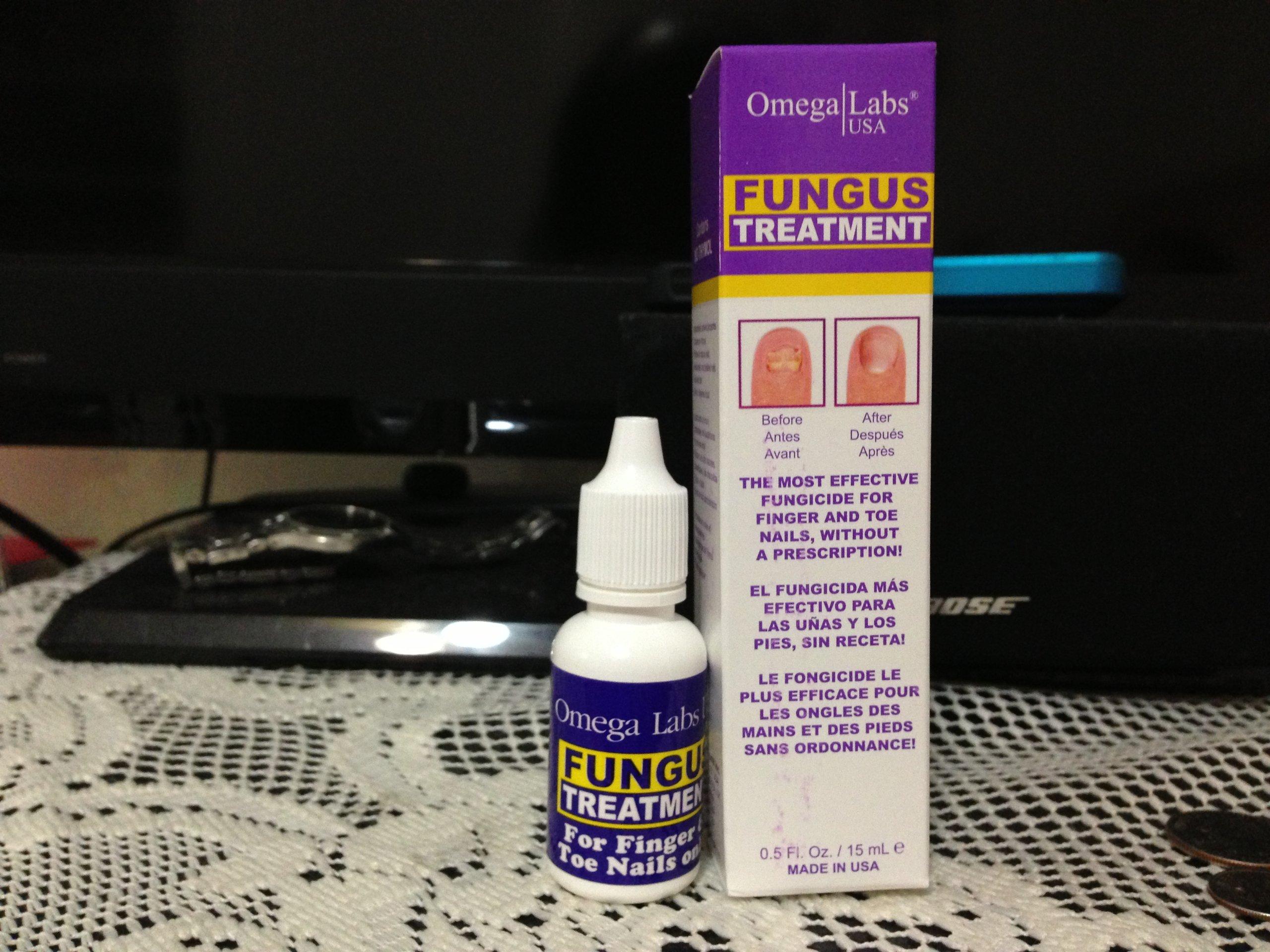 Amazon.com : Omega Labs Fungus Treatment for Finger & Toe Nails ...