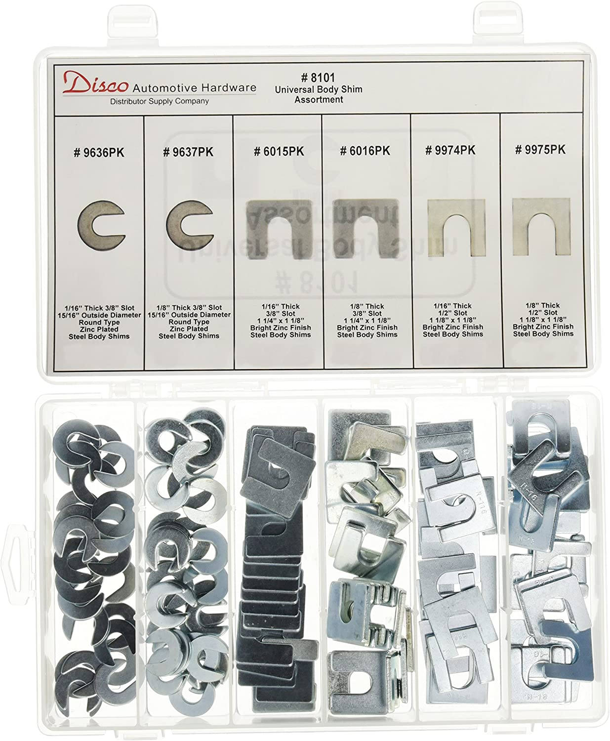 Disco Automotive 8101 Universal Body Shim Assortment