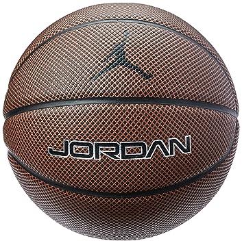 Nike Jordan Legacy 8P Pelota, Unisex Adulto, Amber/Bla, 7: Amazon ...