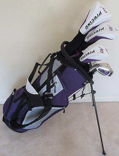 Ladies Left Handed Complete Golf Set Purple Lavender Driver