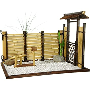 zen garden furniture. Oriental Furniture Zen Bamboo Mini Garden A