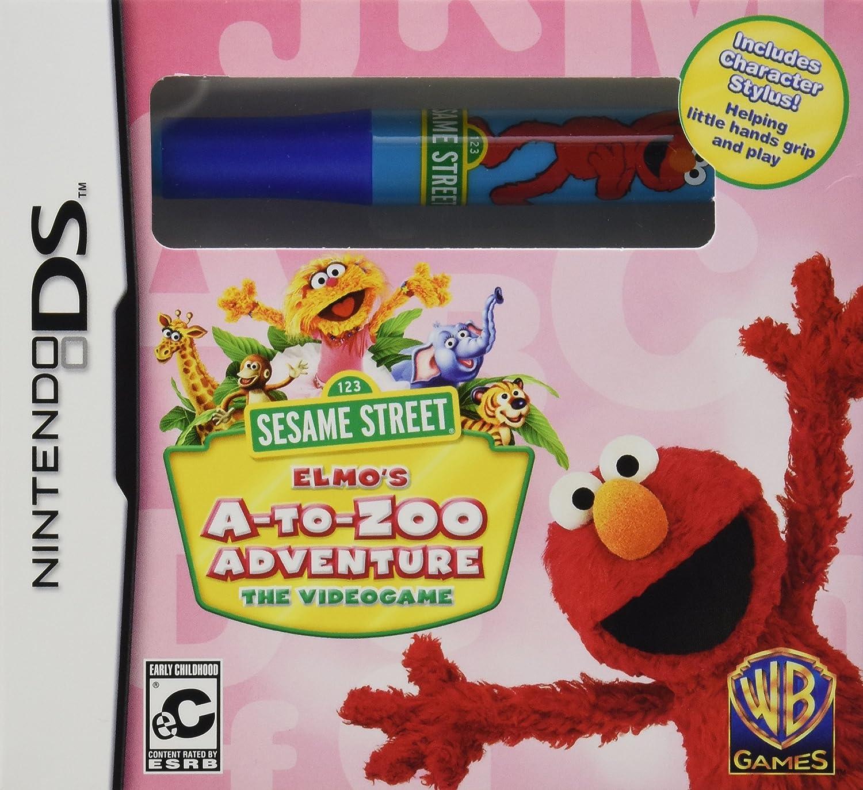 Amazon Sesame Street Elmo s A to Zoo Adventure Nintendo Wii