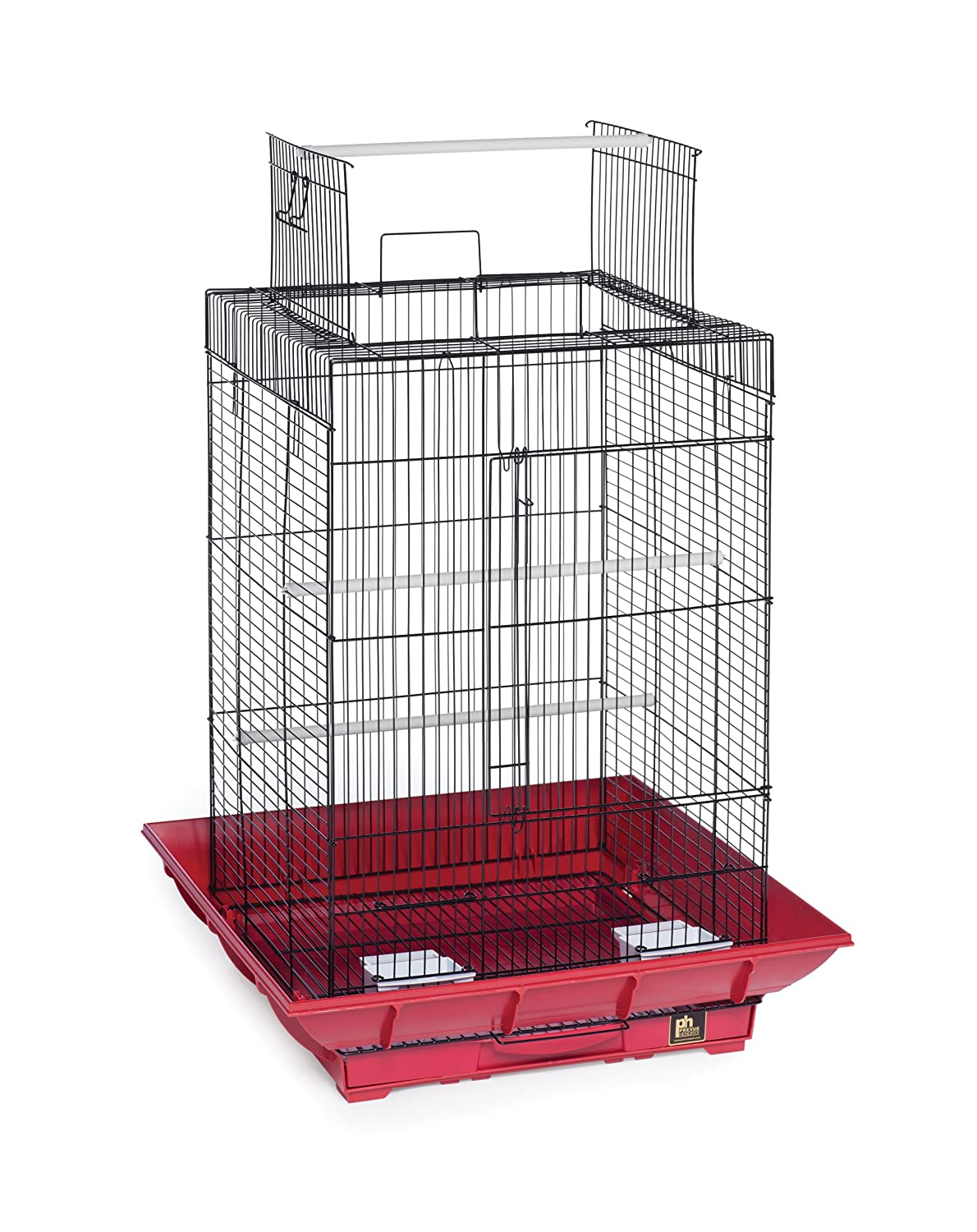 Prevue Hendryx SP851G/W Clean Life Play Top Cage, Green and White Prevue Pet Products
