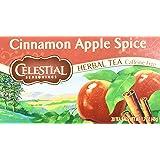 Celestial Seasonings Cinnamon Apple Spice Herbal Tea, 20 Count (Pack of 6)
