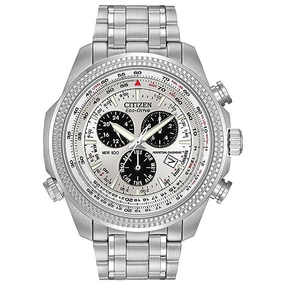 Citizen BL5400-52A - Reloj deportivo de acero inoxidable para hombre: Citizen: Amazon.es: Relojes