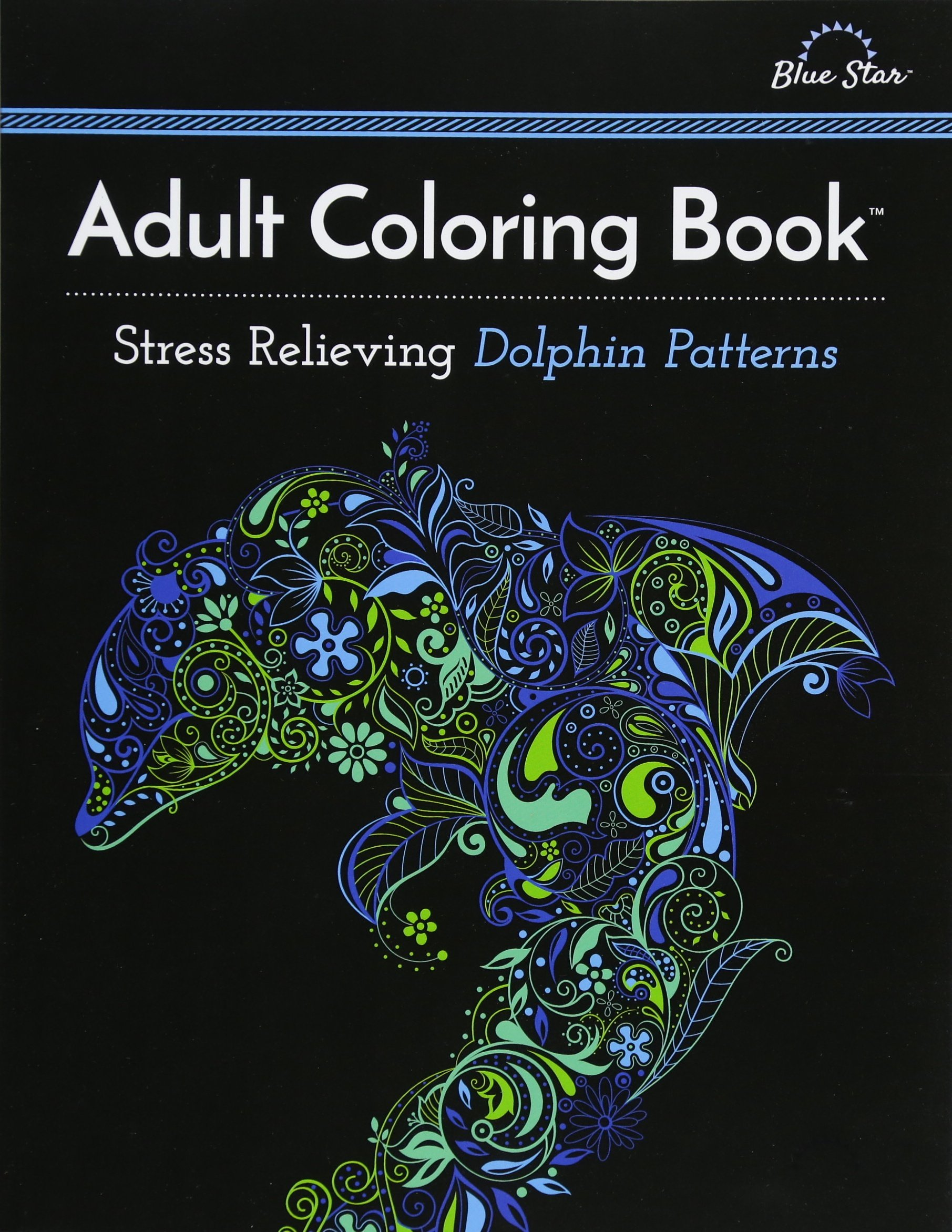 Adult Coloring Book Relieving Patterns