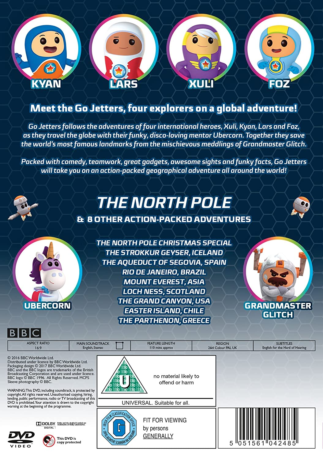 Tryskouni -  Severni pol / Go Jetters - The North Pole(2015)