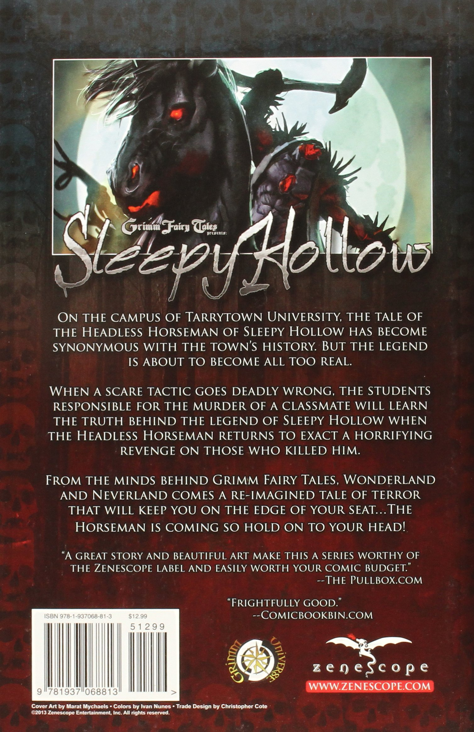 Grimm Fairy Tales Presents: Sleepy Hollow: Amazon.es: Dan Wickline: Libros en idiomas extranjeros