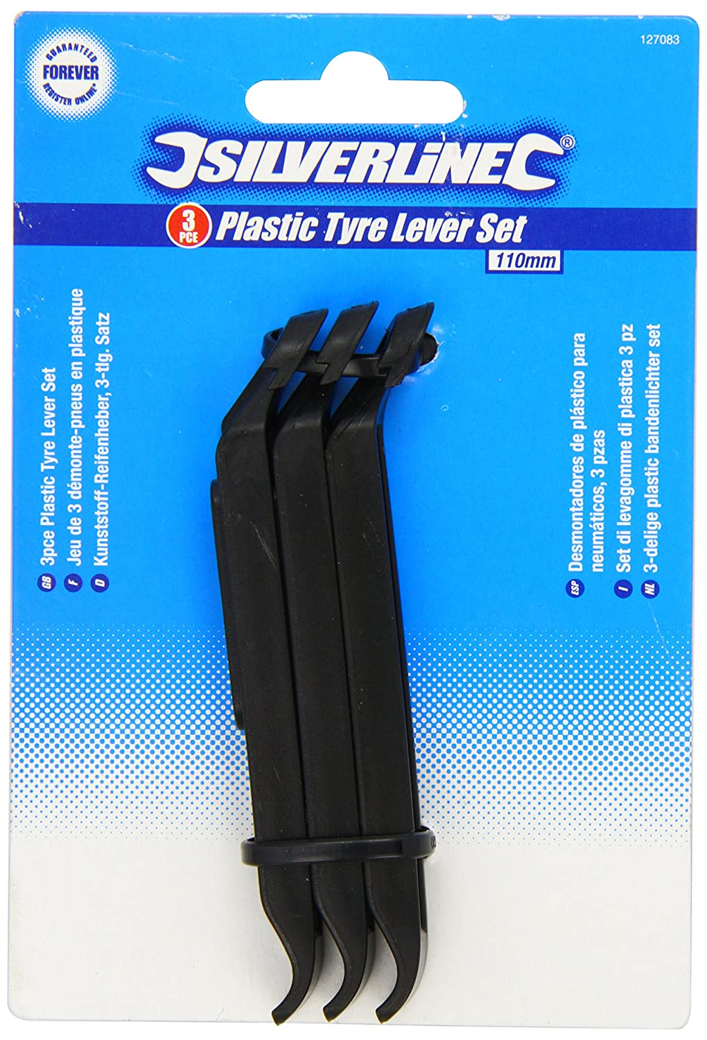 3XTyre Lever Set of 3 Carded Tool