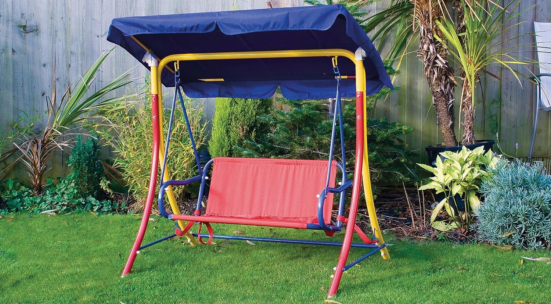 swinging 2 seater garden hammock swing seat childrens  amazon co uk  garden  u0026 outdoors swinging 2 seater garden hammock swing seat childrens  amazon co      rh   amazon co uk