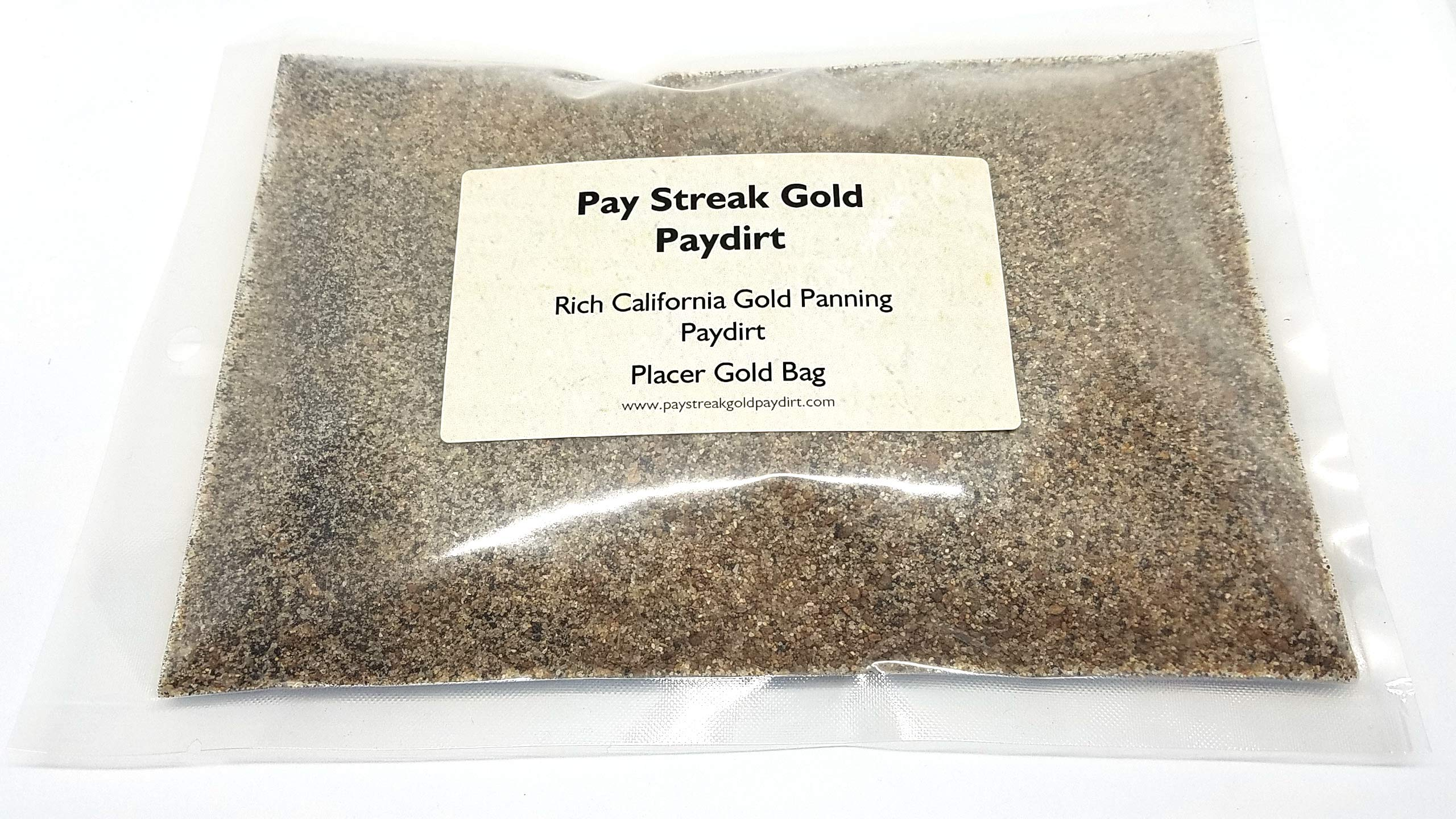 Pay Streak Gold Paydirt Placer Gold Pay Dirt Bag Panning Concentrates