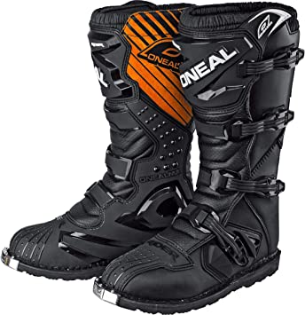 ONeal Rider Boot MX Stiefel Wei/ß Moto Cross Enduro Motorrad 0329-2