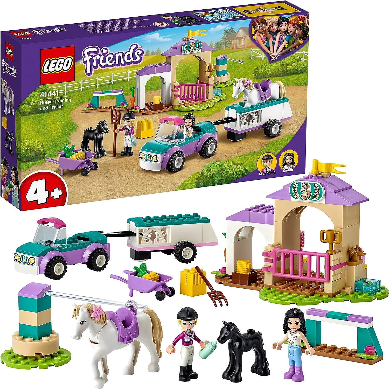 レゴ(LEGO) フレンズ 乗馬とホーストレーラー 41441