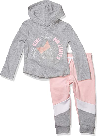 Instagirl Girls Big Knit Top and Jogger Set