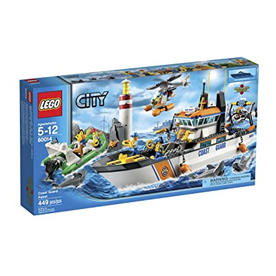 LEGO City Coast Guard Patrol 60014 (Discontinued by manufacturer): Toys & Games
