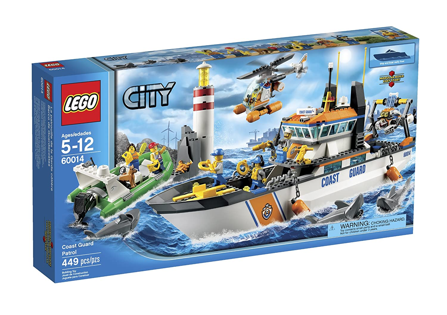 LEGO CITY COAST GUARD PATROL 60014 6024987
