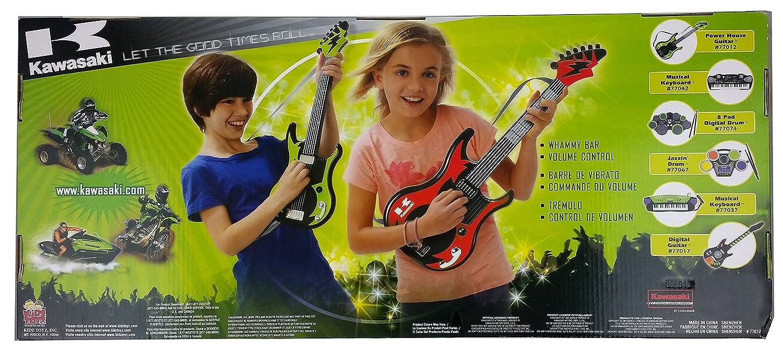 Kawasaki Power House Kids Toy Guitar