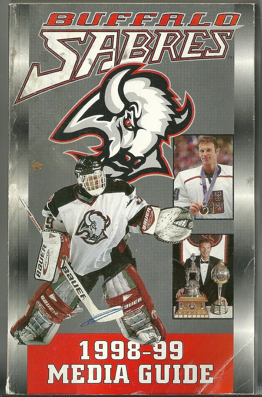 1998-99 NHL Buffalo Sabres Hockey Media Guide
