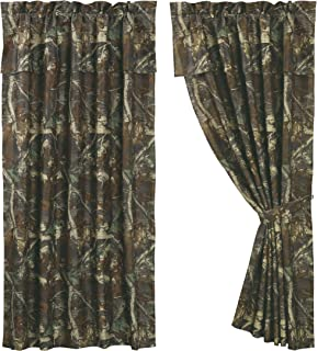 Curtains Ideas cheap camo curtains : Amazon.com: HIEnd Accents Realtree Oak Camo Comforter Set, Queen ...