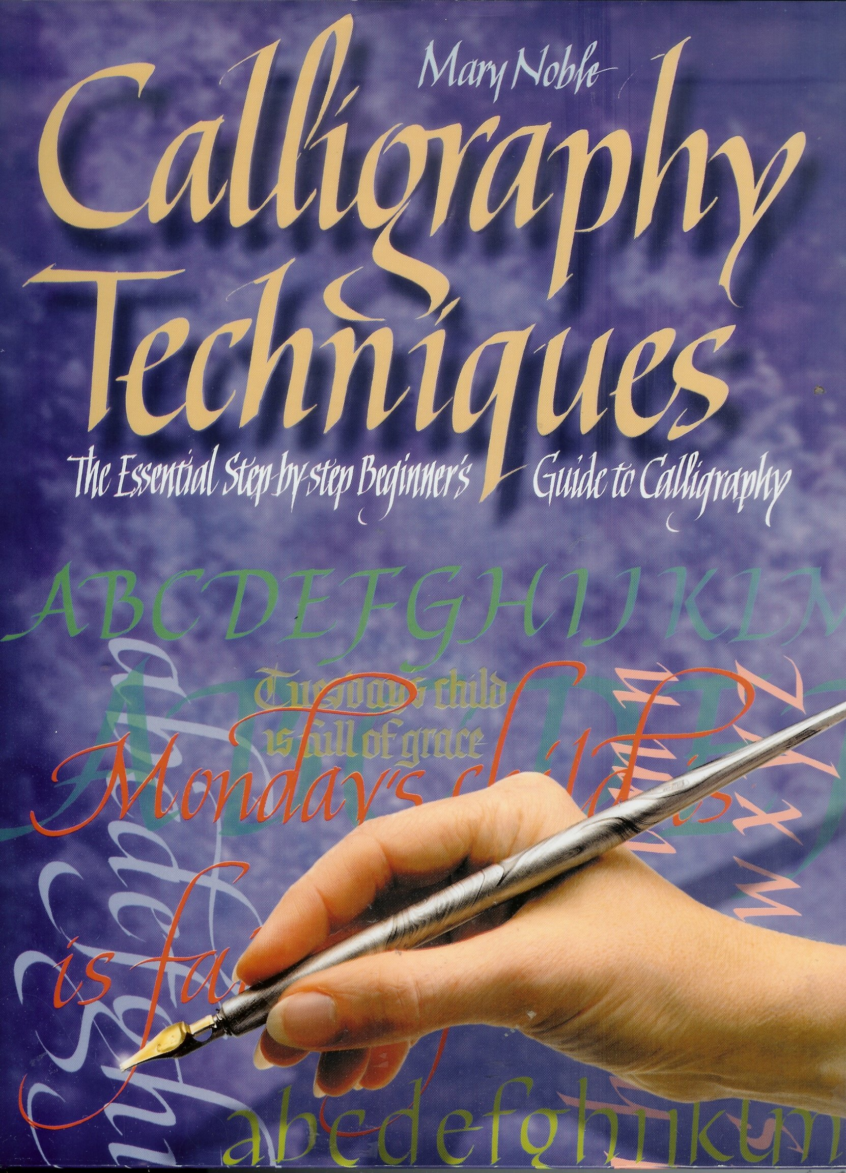 Calligraphy Techniques: The Essential Step-by-step Beginner's Guide to Calligraphy pdf