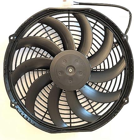 SPAL 30101522 - Extractor de ventilador de 12 pulgadas con ...