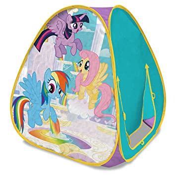 Playhut Little Pony Classic Hideaway Play Tent  sc 1 st  Amazon.com & Amazon.com: Playhut Little Pony Classic Hideaway Play Tent: Toys ...