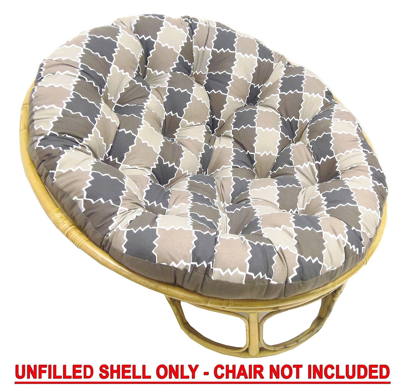 Amazon Cotton Craft Papasan Chair Cushion unfilled shell