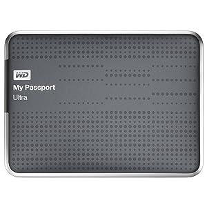 Western Digital My Passport Ultra 2 TB Portable Hard Drive, Titanium (WDBMWV0020BTT-NESN)