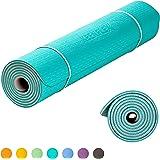 KeenFlex Grand Tapis de Yoga Premium épais et confortable, pour Pilates / Fitness / Sport / Gym / Ecologique et recyclables