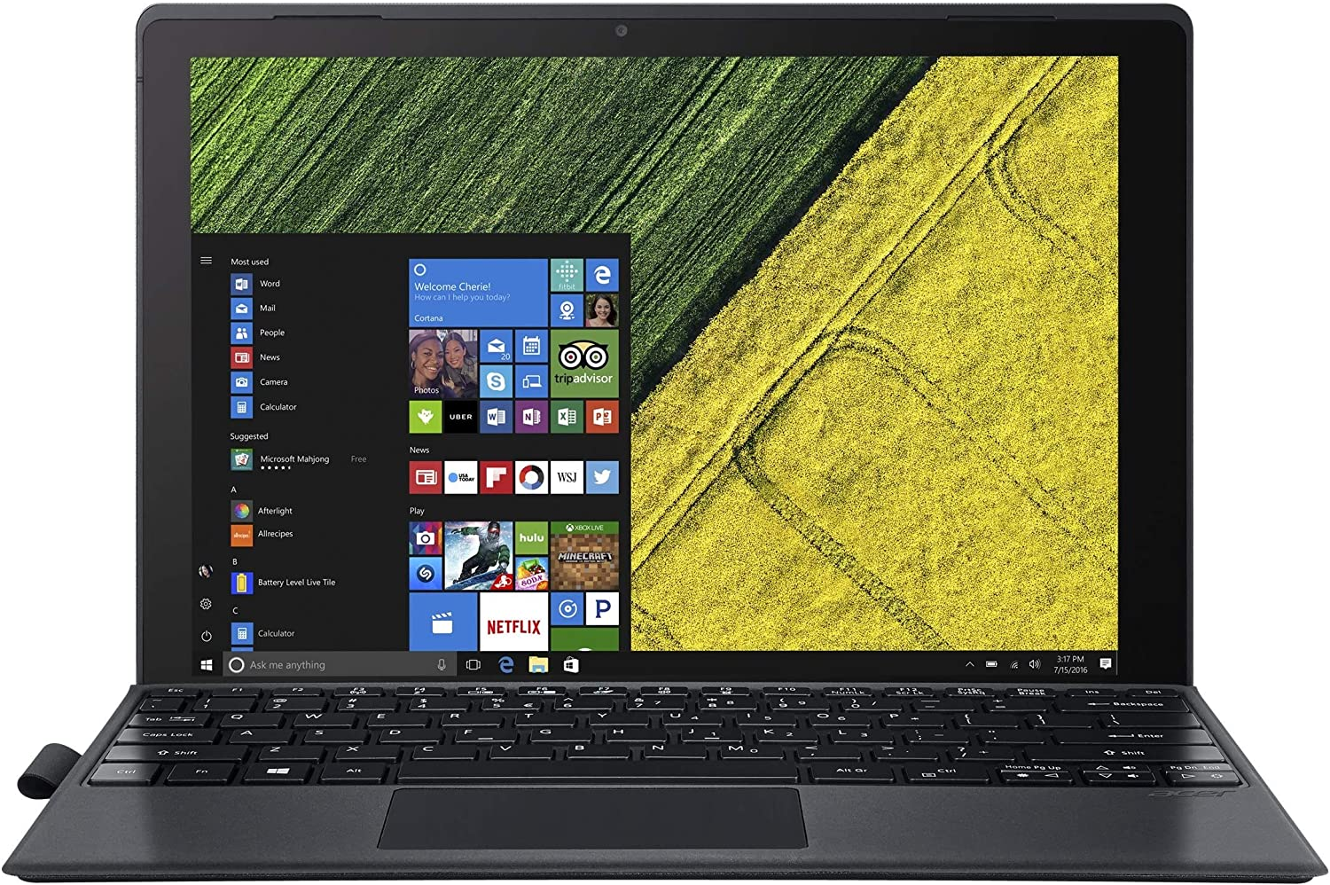 "Acer Switch 5 - 12"" Notebook Intel i5-7200U 2.50GHz 8GB Ram 256 SSD Windows 10 Home (Renewed)"