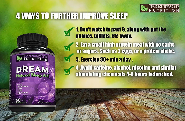 Amazon.com: Dream- Ayuda para dormir natural – incluye ...