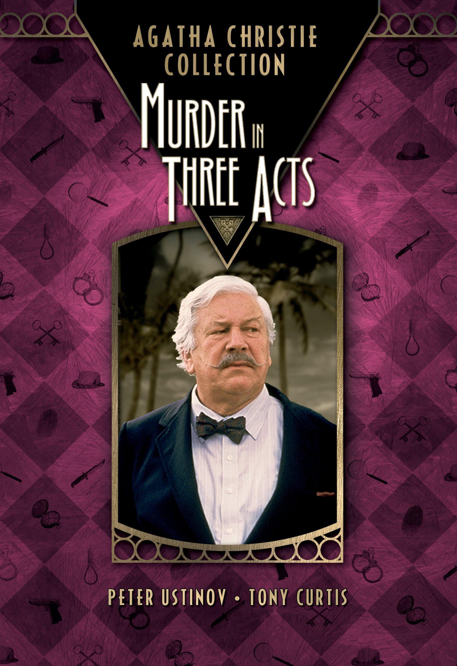 Amazon: Murder In Three Acts: Peter Ustinov, Tony Curtis, Emma Samms,