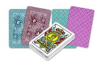 Fournier - Nº 5, 50 Cartas españolas, Color Azul / Rojo (F20995)