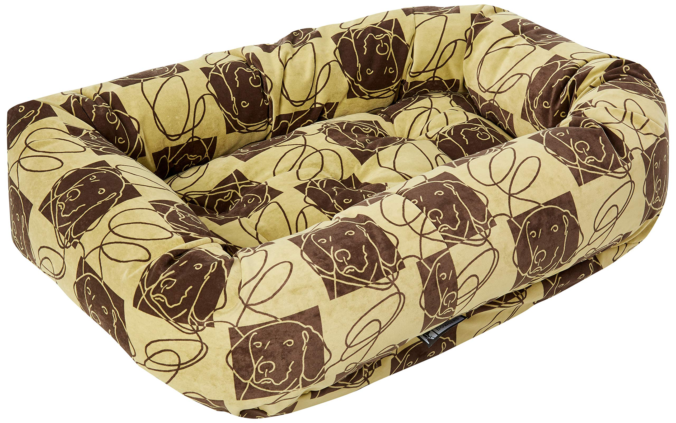 Bowsers Donut Bed, Medium, Dog Days by Bowsers