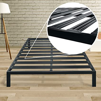 Amazon.com: Best Price Mattress Queen Bed Frame - 14 Inch Metal ...