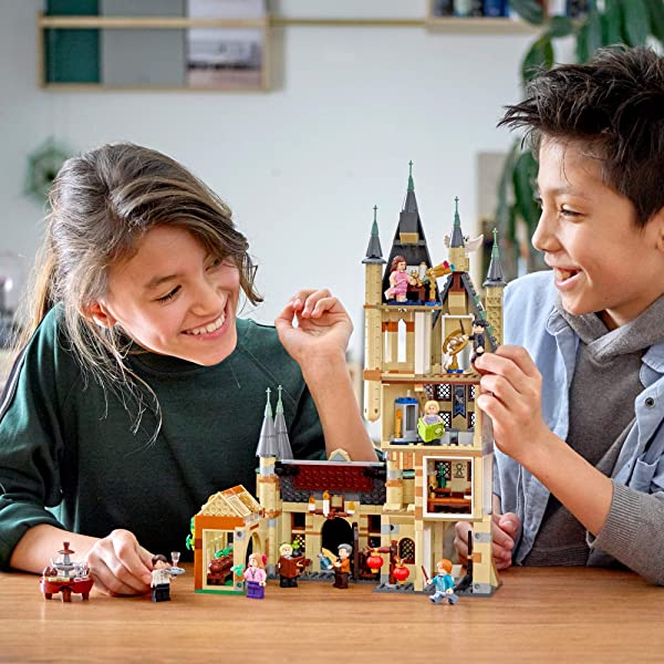 LEGO Harry Potter Hogwarts Astronomy Tower construction building set toy for kids