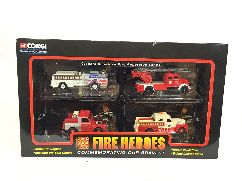 Corgi Showcase Collection CSFH13004 - Classic American Fire Apparatus Set #4 B0006O8PKC