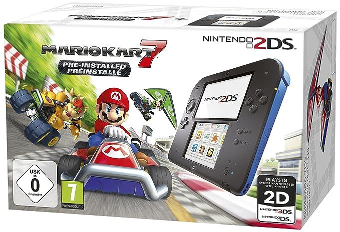 Nintendo 2DS, Videoconsola, negro: Nintendo: Amazon.es: Electrónica