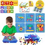Educational Toys Engaging Jigsaw Puzzle By ETI Toys for Boys and Girls 490 Piece Set for Making Endless Puzzle Combinations! Great for Learning, Developing and Having Fun. Make Your Imagination Today!