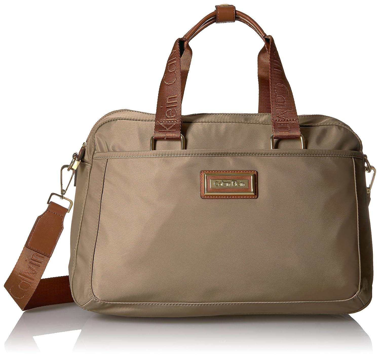 halv av plocka upp mest populär Calvin Klein Belfast Nylon Commuter Messenger Bag (Light Khaki ...