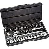 Allied Tools 86084 Mechanic Socket Set, 40-Piece