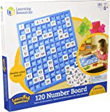 Learning Resources 120 Number Board, 181 Pieces