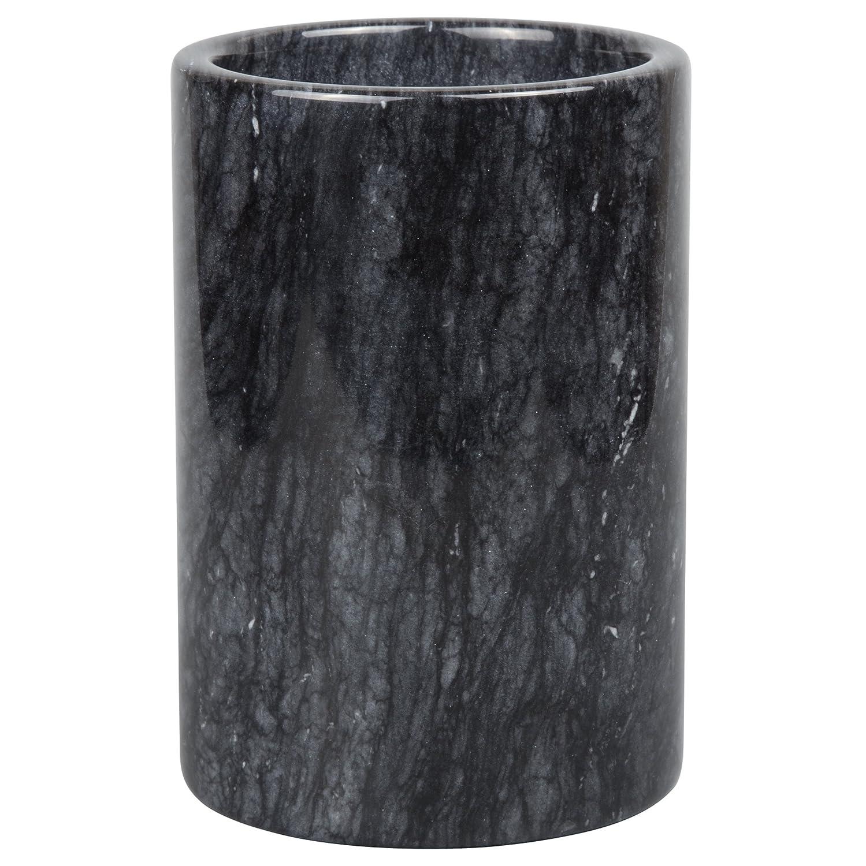 Creative Home Natural Black Marble Wine Cooler, Tool Holder, Crock