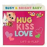 Hug Kiss Love (Busy & Bright Baby)
