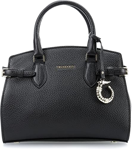 Trussardi Elite Handbag Black: Amazon.co.uk: Shoes & Bags