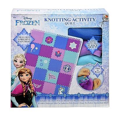 Innovation Designs Disney Frozen Knotting Activity Quilt: Toys & Games