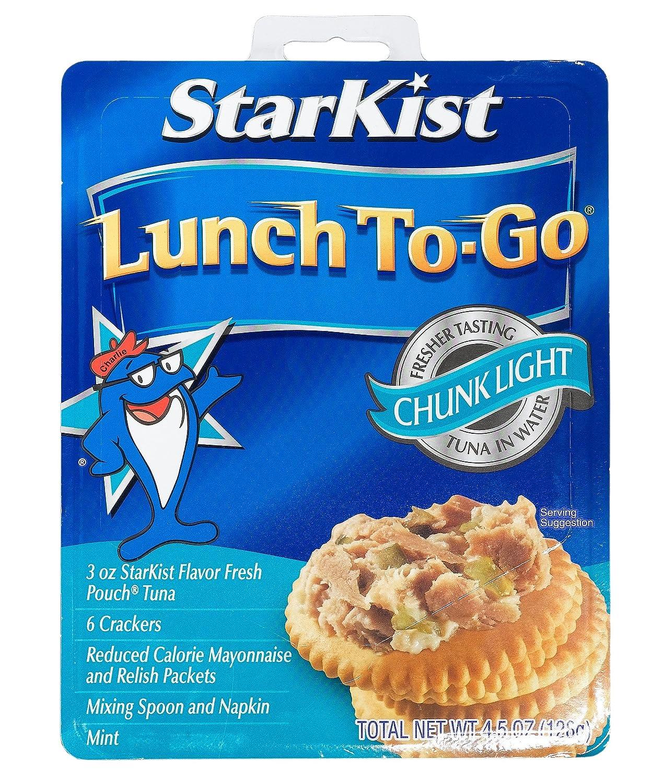 Starkist Tuna Salad Kit Nutrition Facts - Nutrition Ftempo