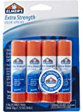 Elmer's Extra Strength Glue Sticks, 0.28 Ounces, 4 Count