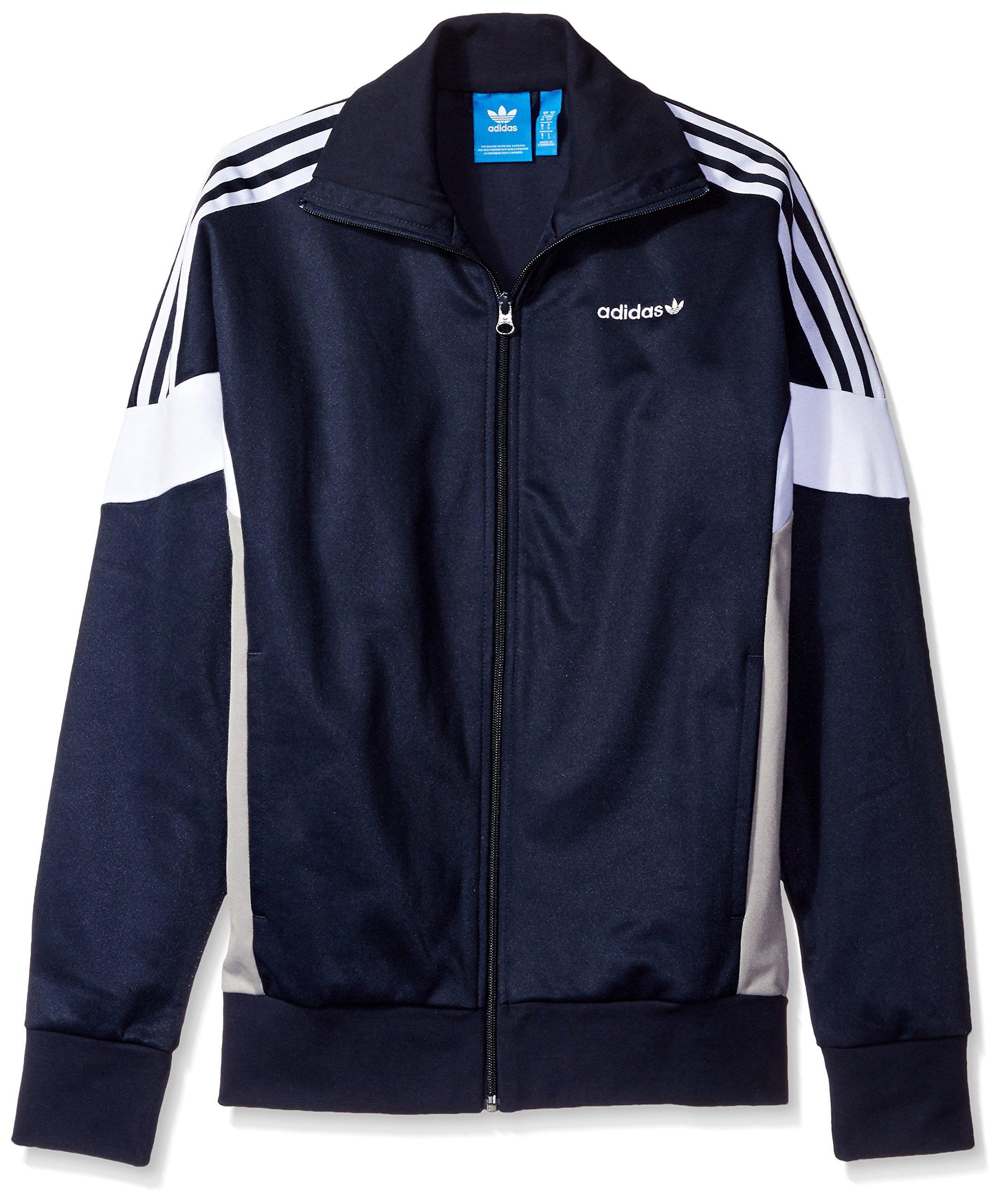 adidas Originals Men's Outerwear Challenger Track Jacket, Legend Ink, Medium